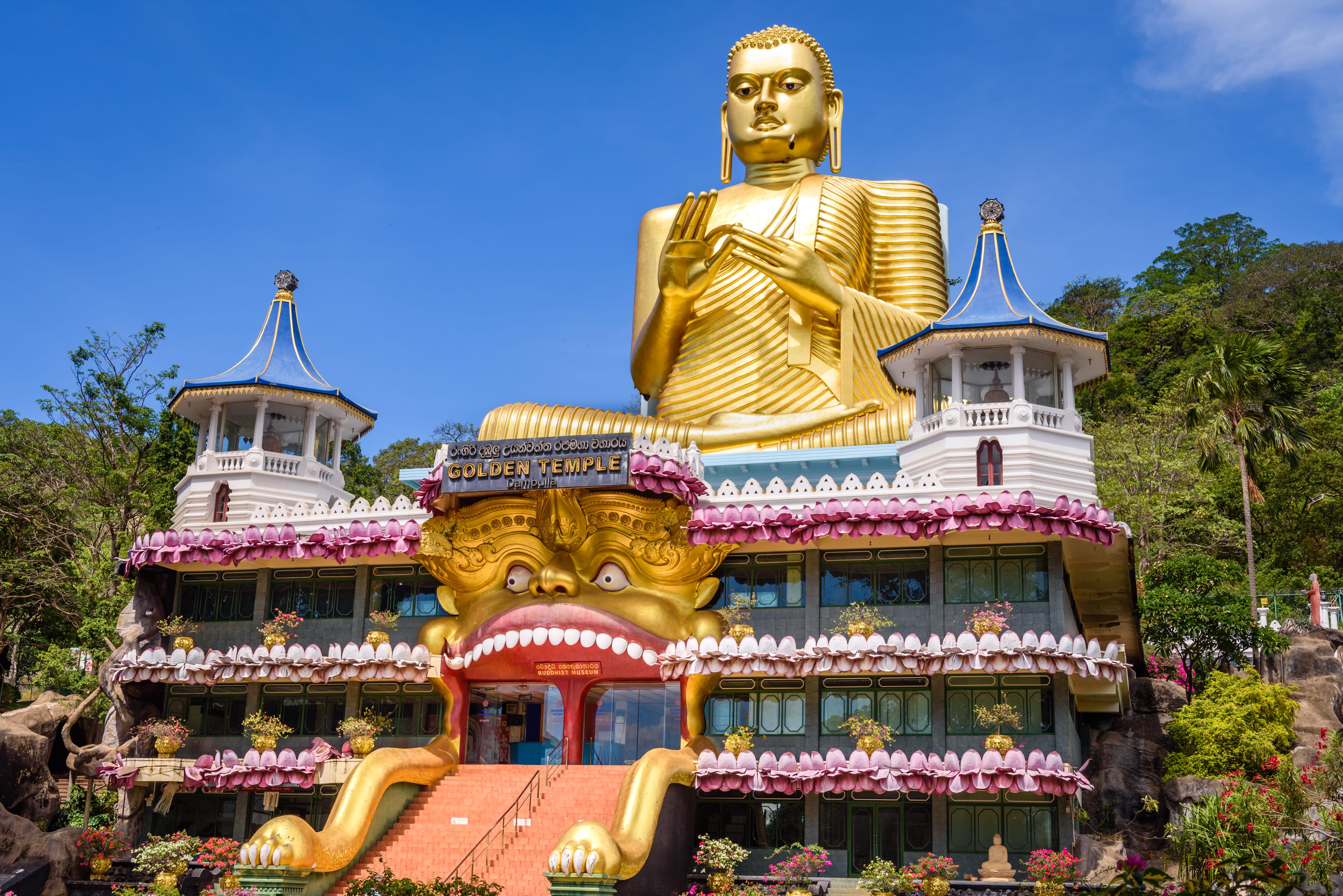 Dambulla Cave Temple - 1