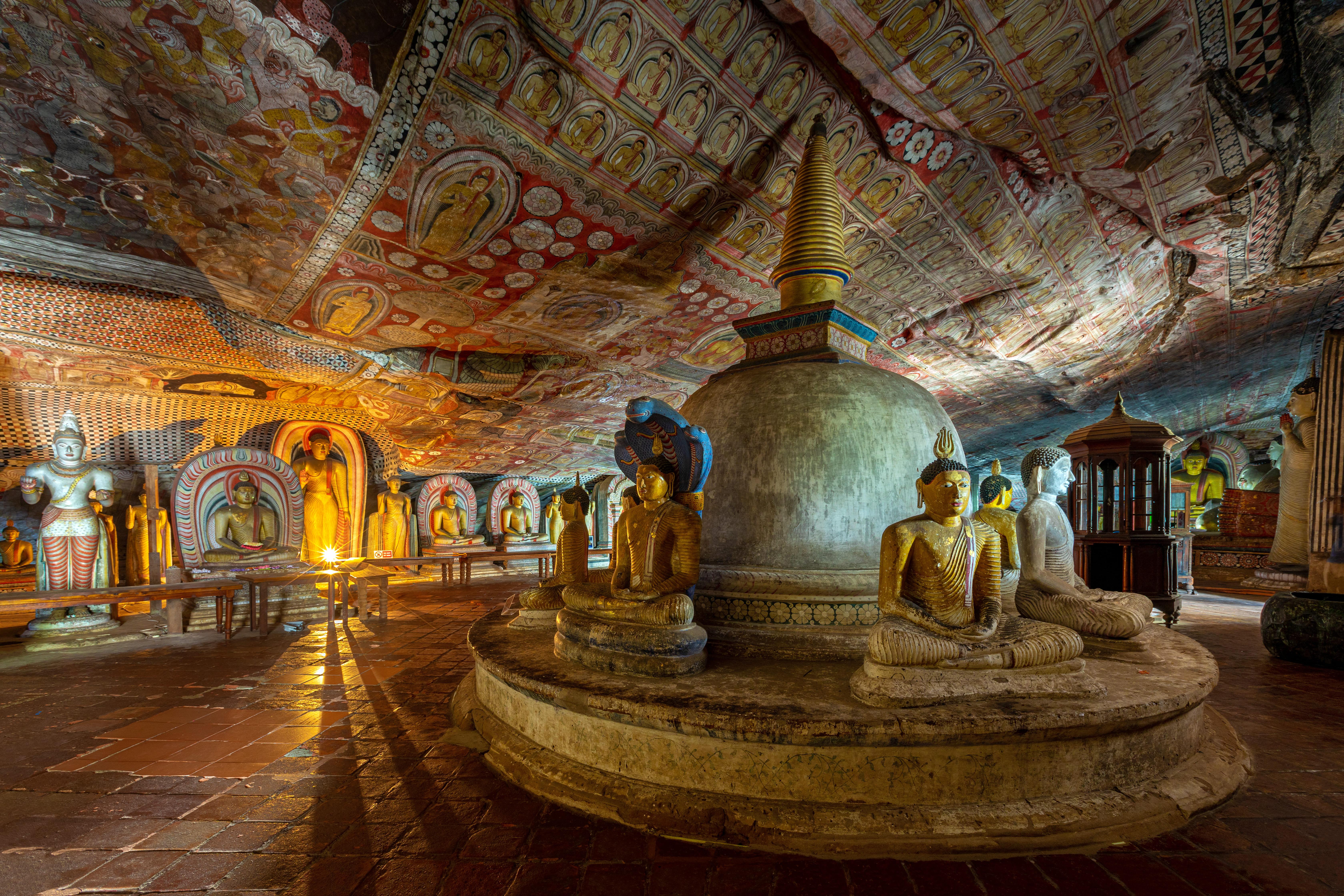 Dambulla Cave Temple - 2