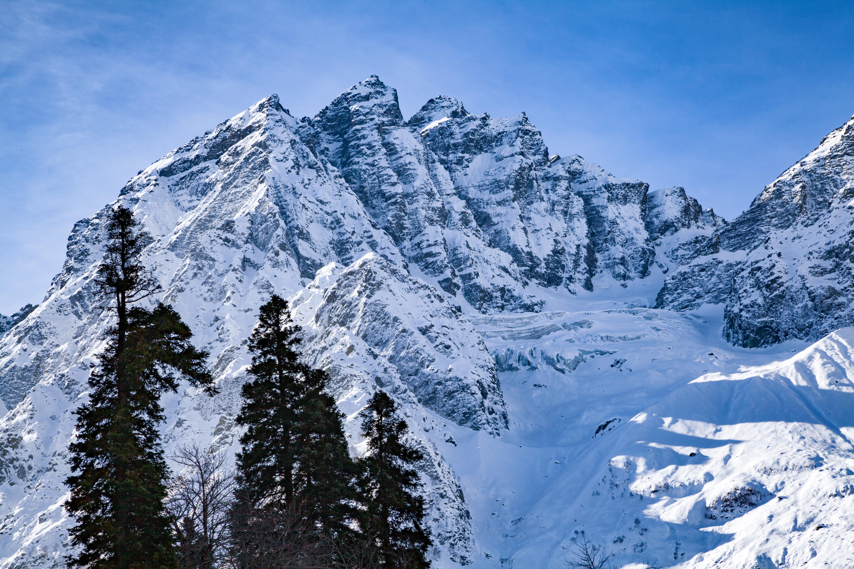 Himalayan Mountain top at Sonmarg