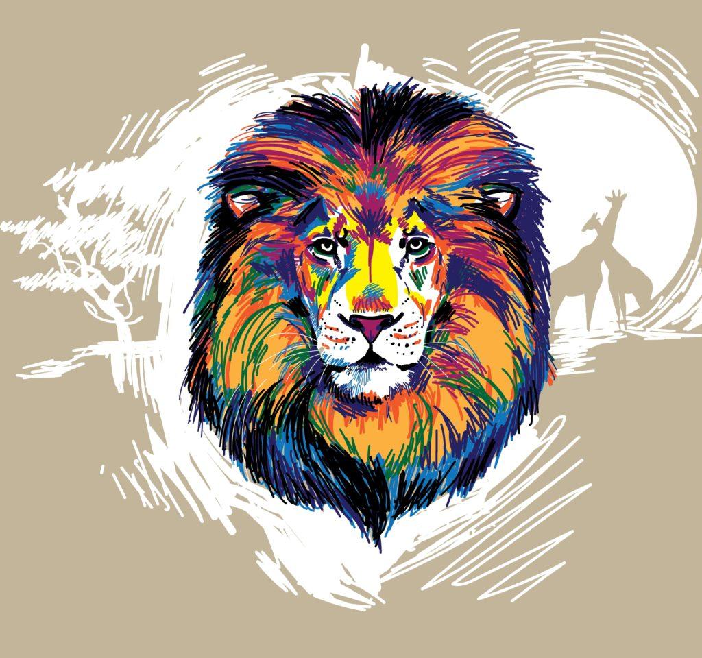 Lion Tattoo Design - 8