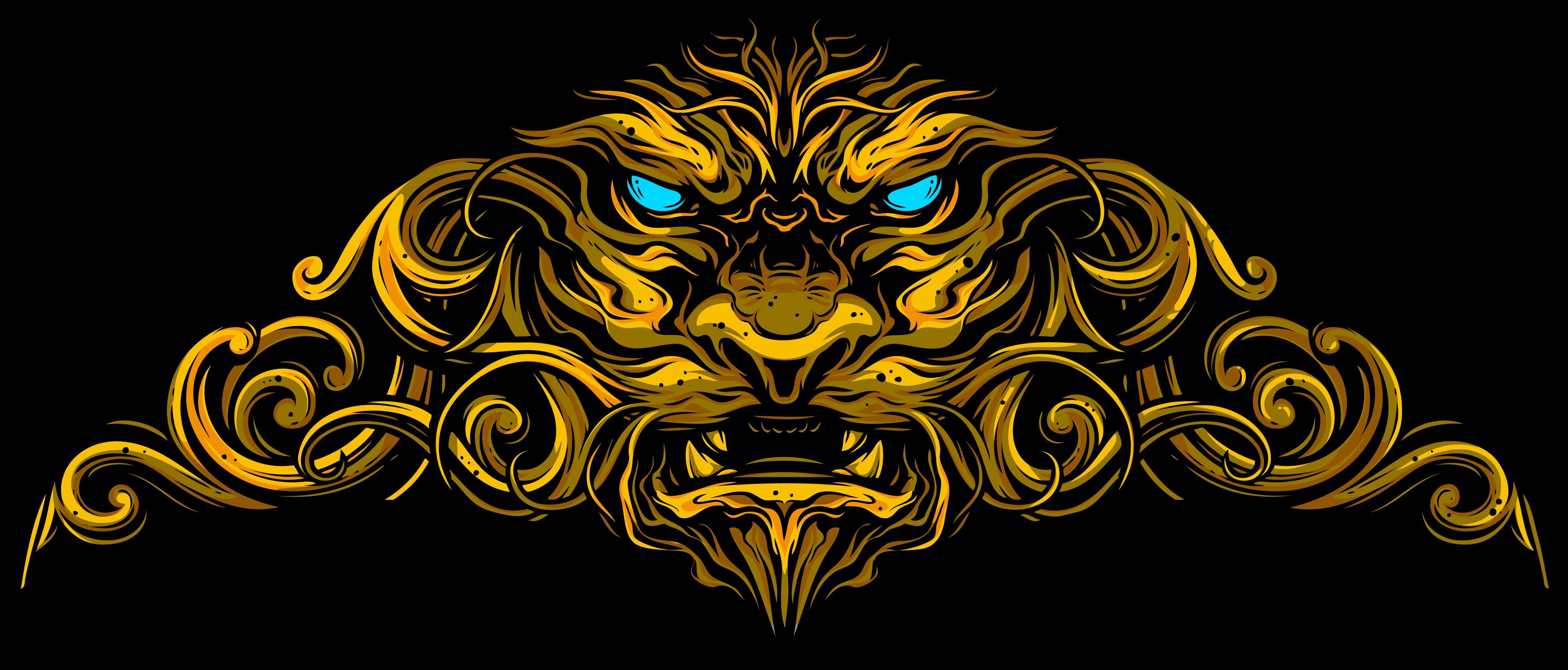 Lion Tattoo Design - Main