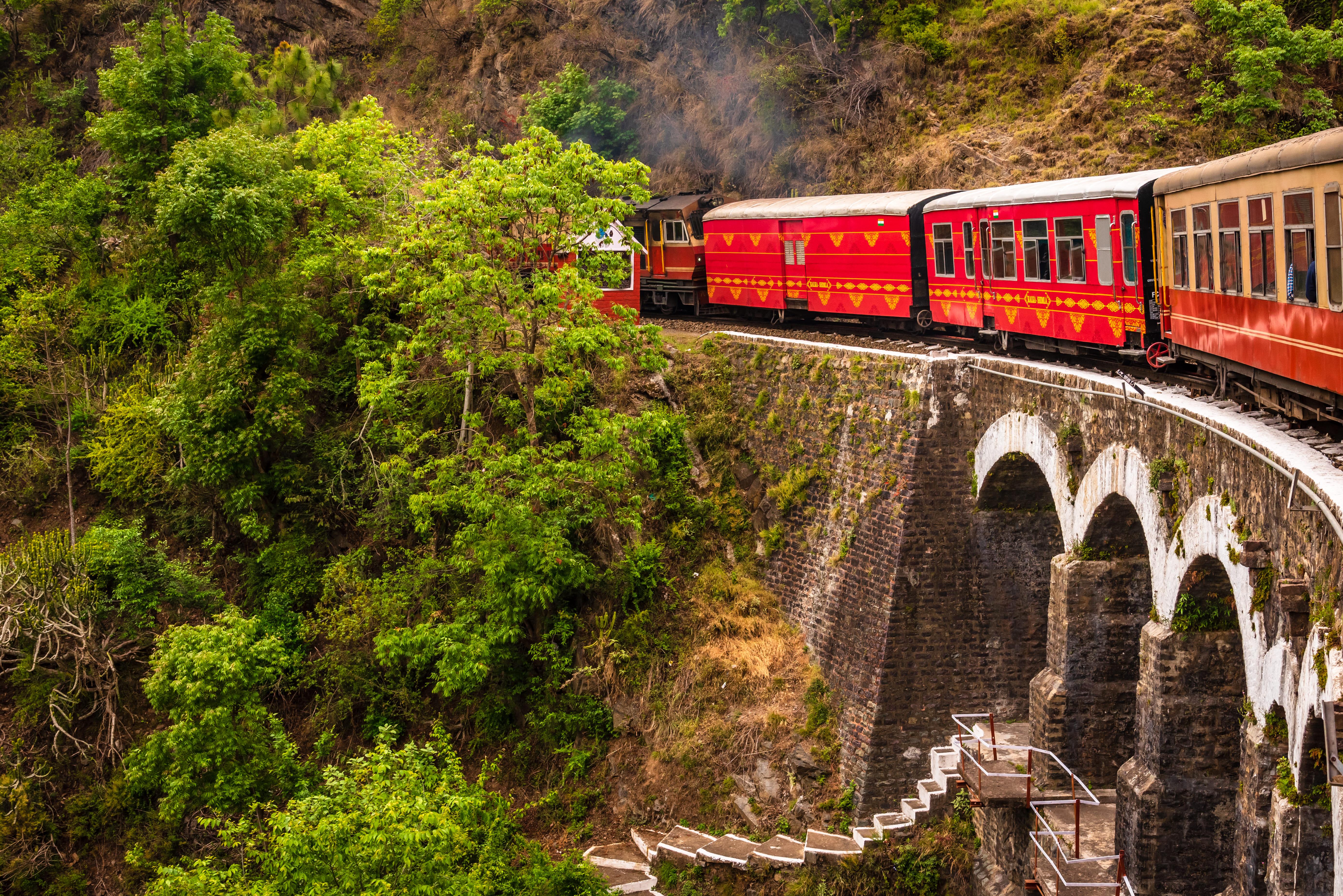 Toy train of Shimla